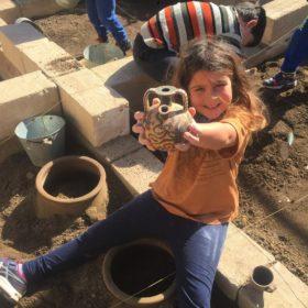 educational excavation kids crete greece