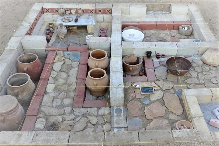 minoan house mansion crete greece