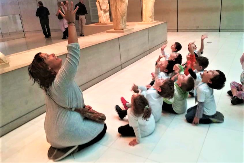 acropolis museum activitis for kids