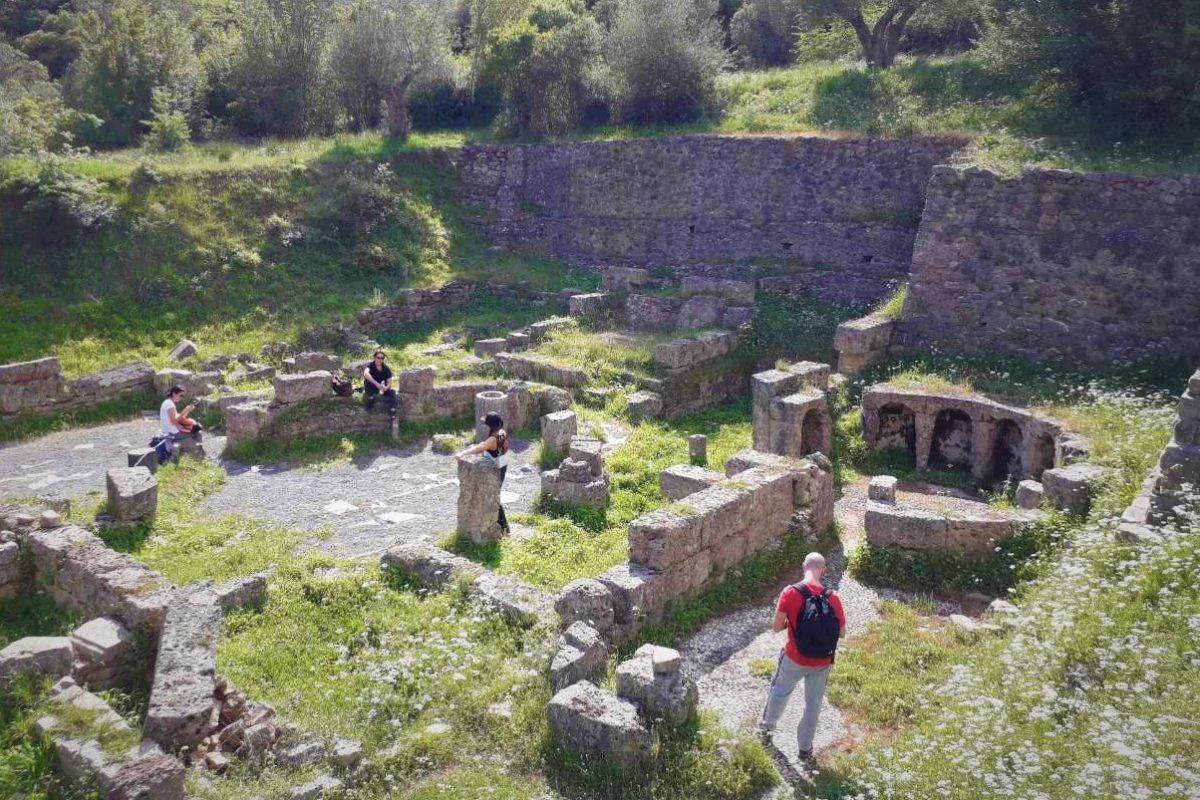 ancient gortys arcadia peloponnese