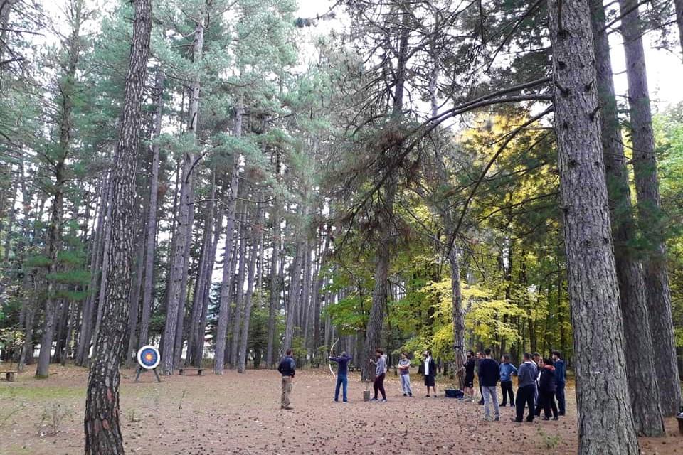 archery families kids menalon arcadia peloponnese
