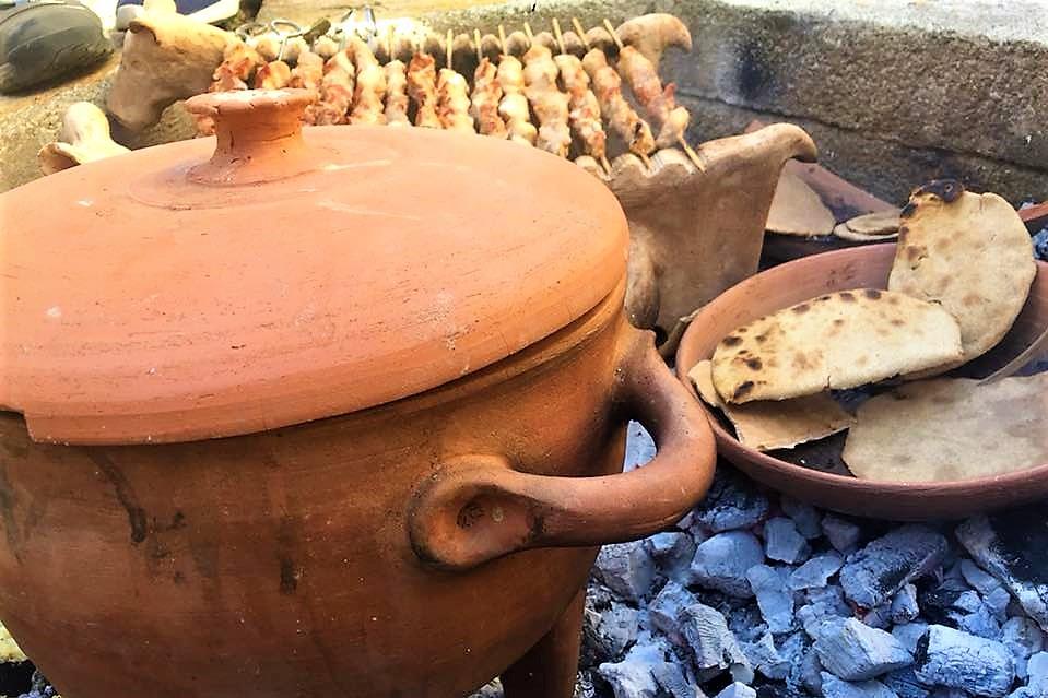 crete minoan cooking souvlaki experience