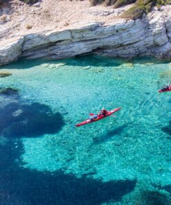 sea kayak ionian greek islands kids families