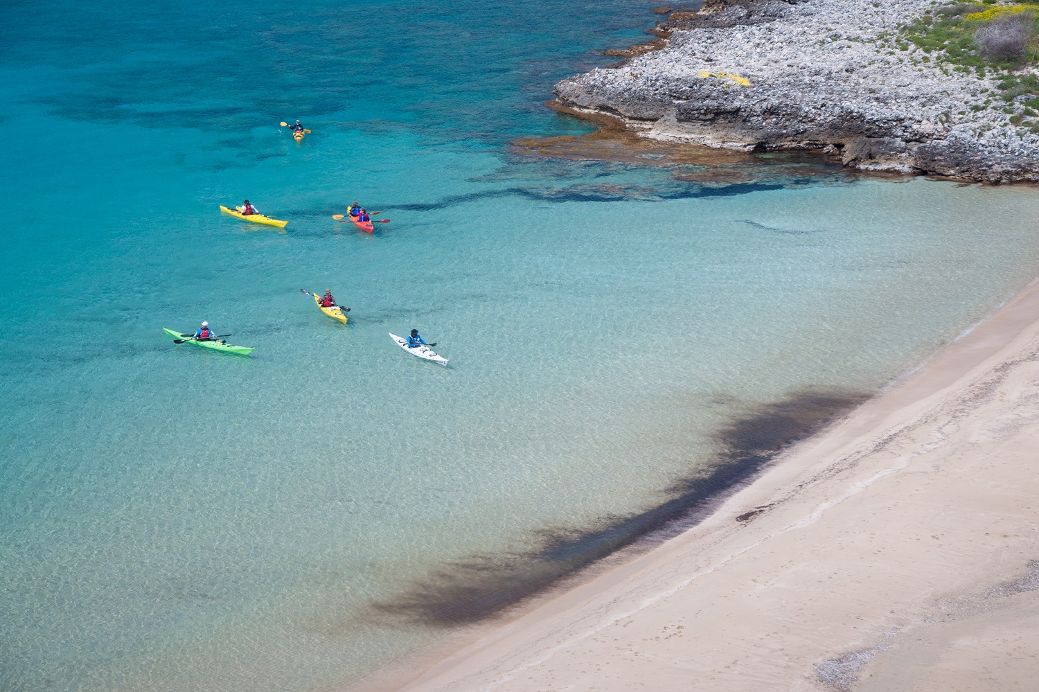 sea kayak messinia peloponnese