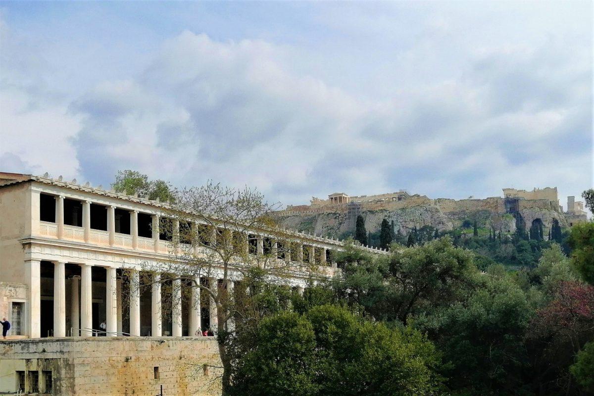 stoa attalos ancient agora athens