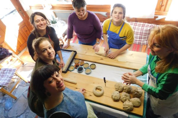 bread kneading rusk crete activities for families