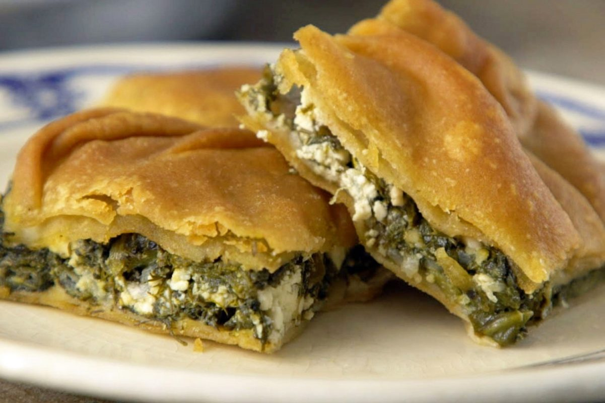 spinach pie food tour