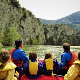 nestos kayak greece river kids