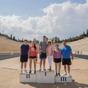 olympic panathenaic stadium tour