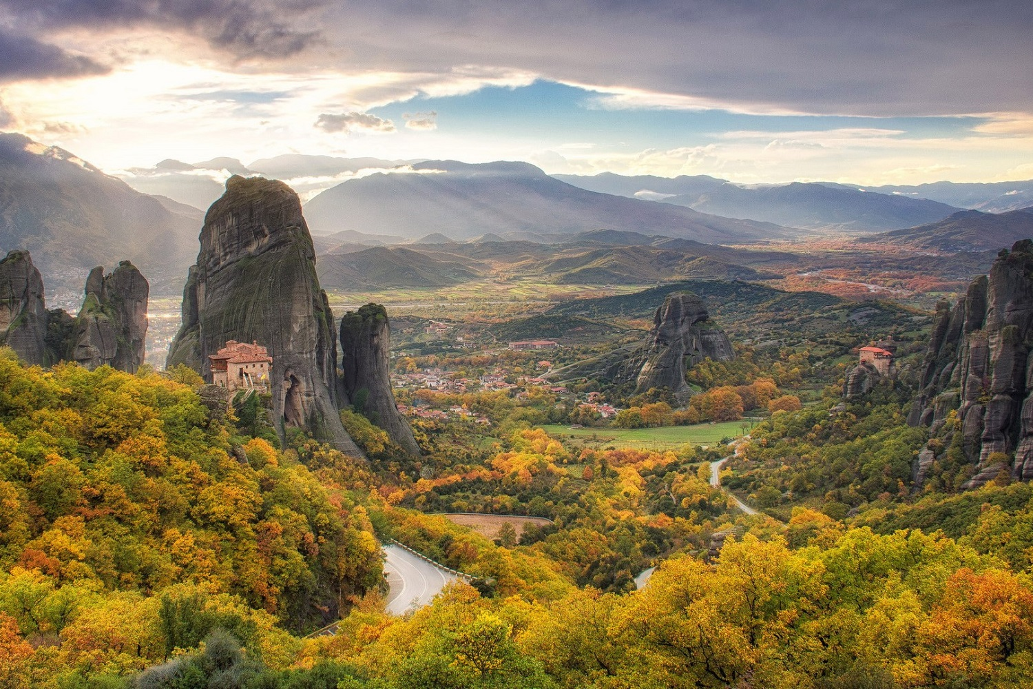 meteora greece family tours