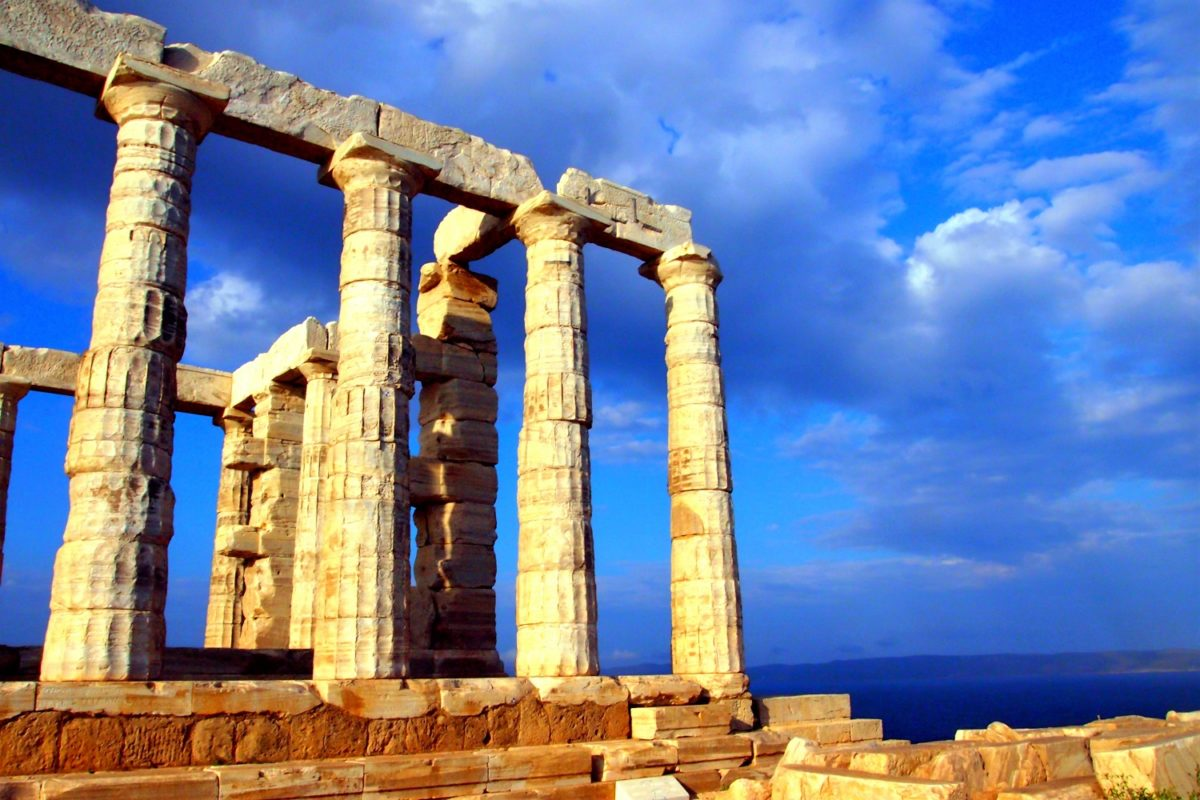 sounio temple of poseidon athens
