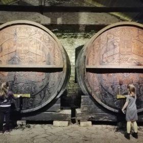 huge barrels Achaia Clauss Imperial Cellar
