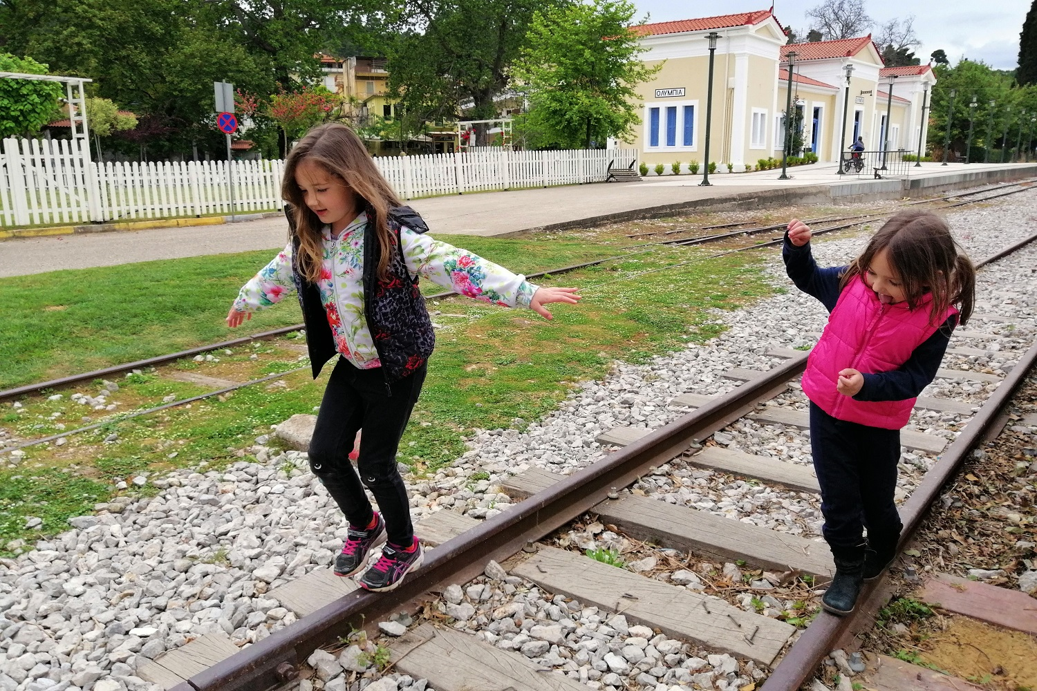 ancient olympia kids train