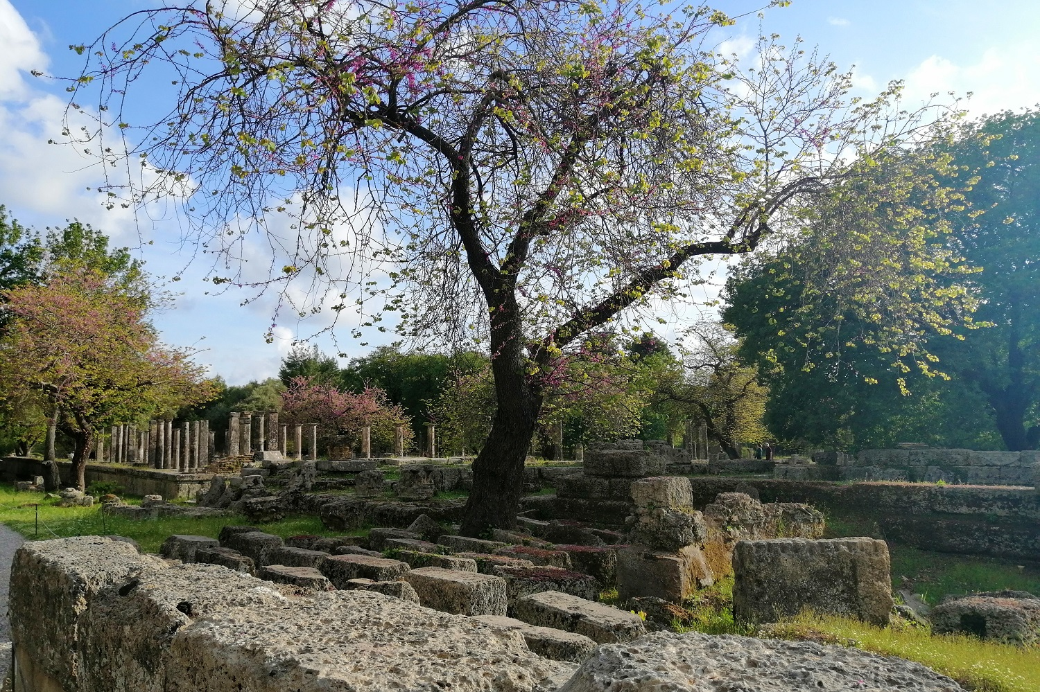ancient olympia peloponnese