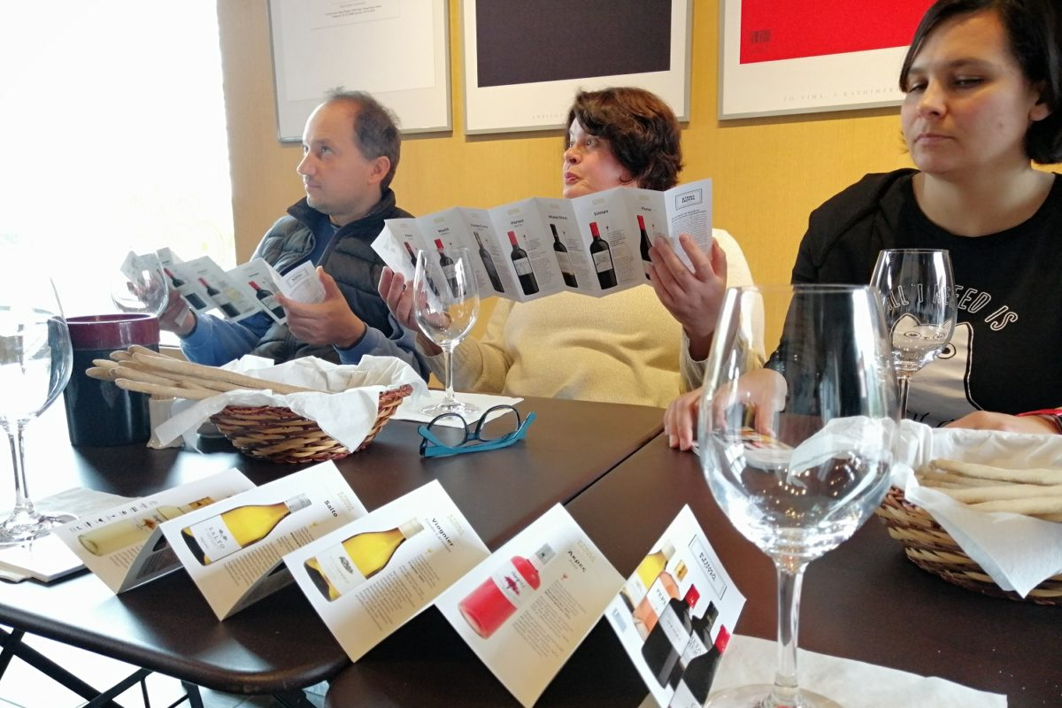 family wine tasting peloponnese Greece