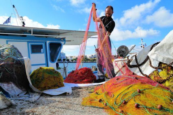 fisherman tinos island