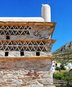 pigeon tinos greek islands