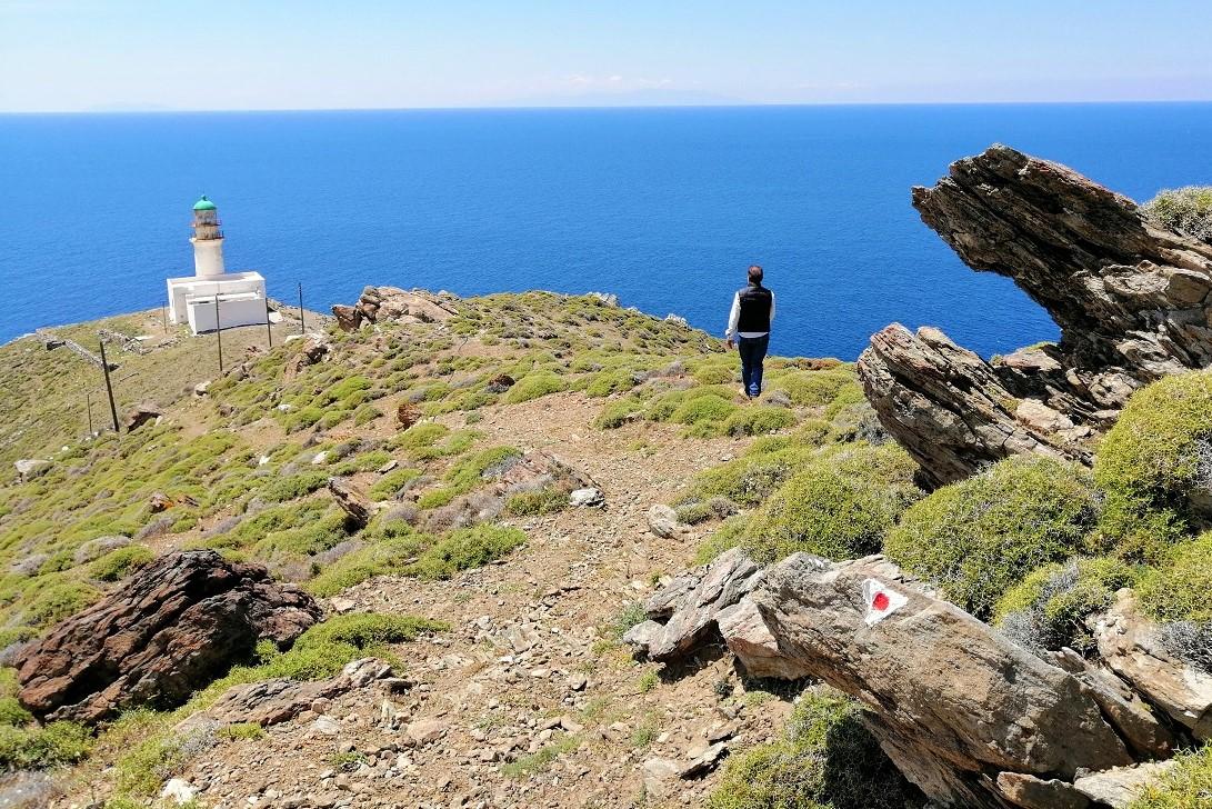 cavo papa ikaria greek island