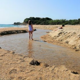 mati beach messinia kids peloponnese