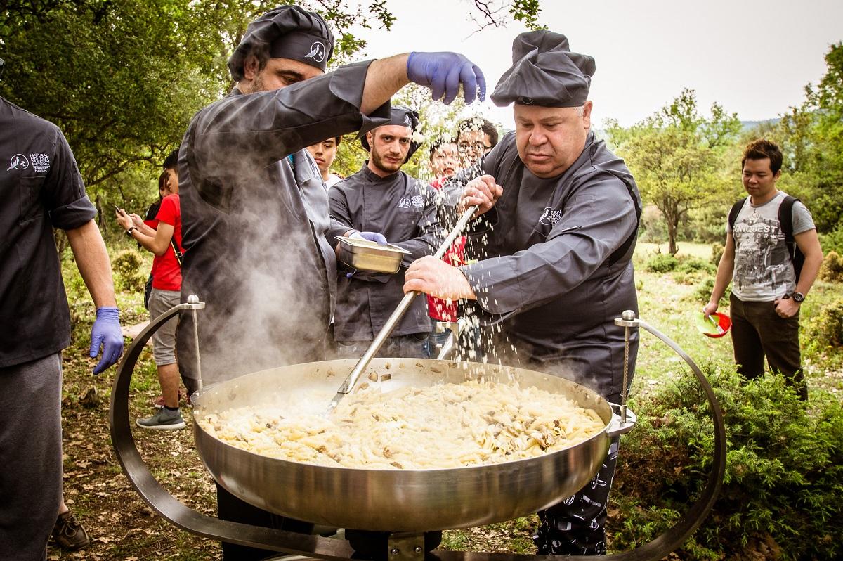 cooking truffle meteora