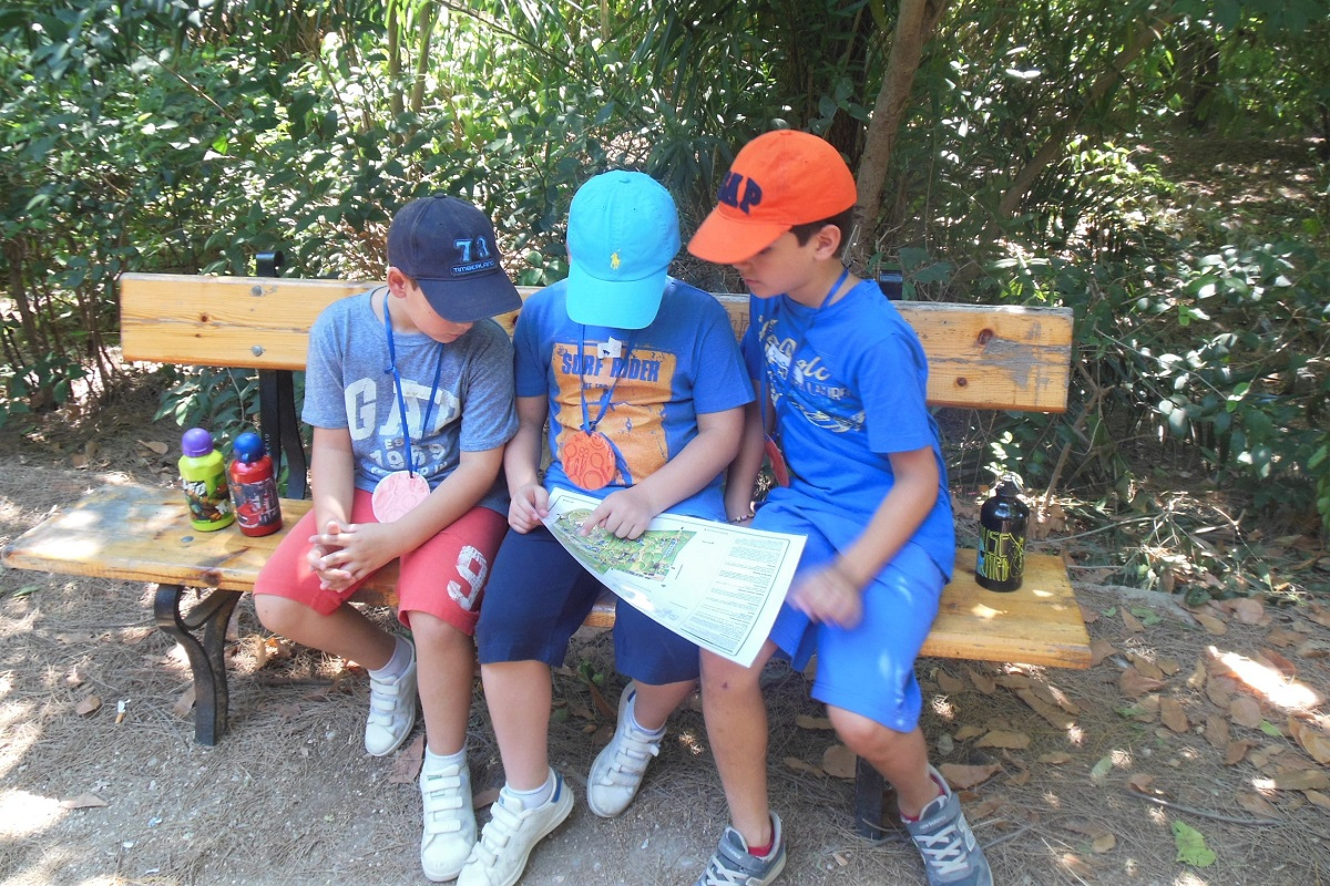 kids athens national garden