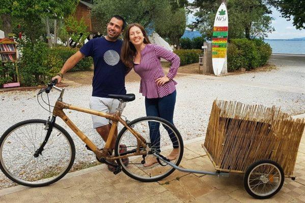 bamboo bike nisi greece