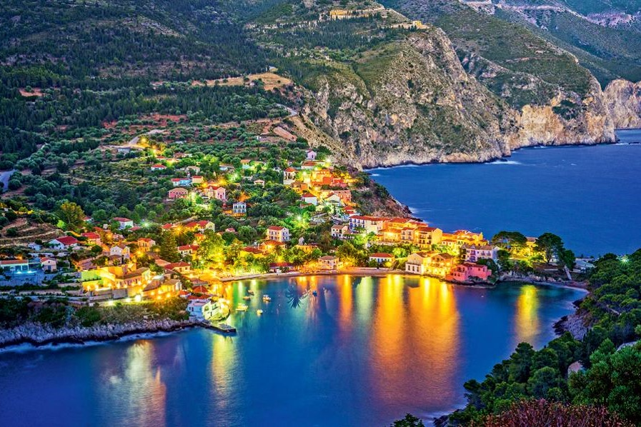 kefalonia assos greek islands