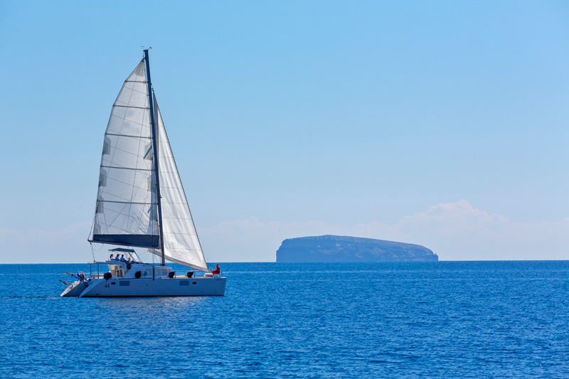 sailing santorini greek islands
