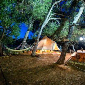 art workshop messenia tents