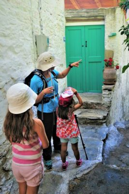 naxos hiking kids