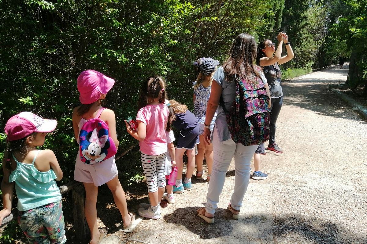 botanical park athens kids