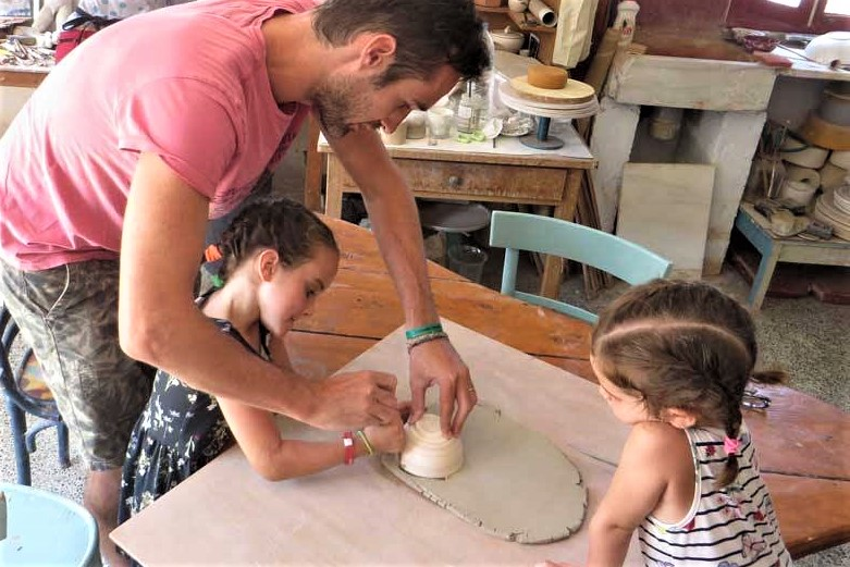 pottery ceramic amorgos kids