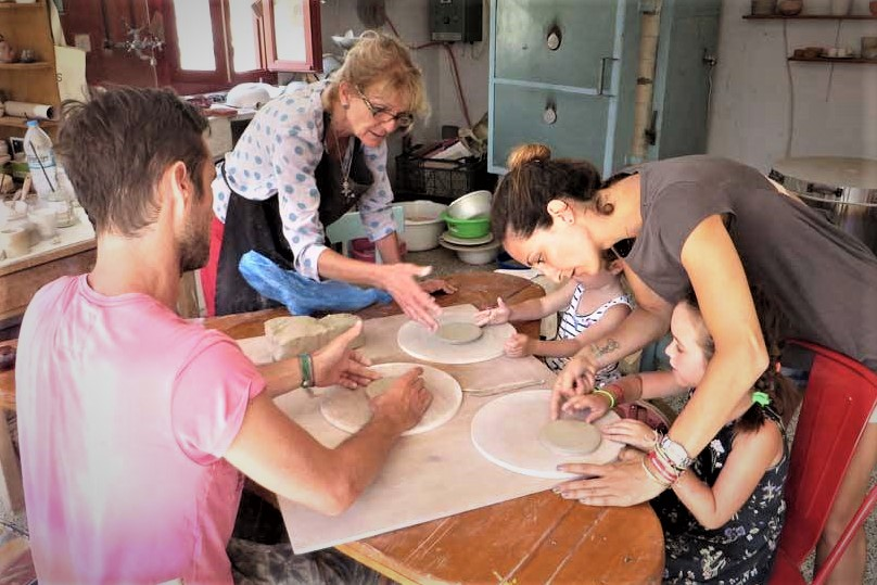 pottery ceramic amorgos kids