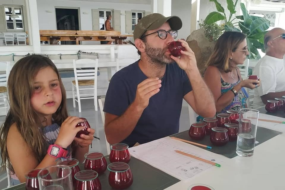 olive oil tasting kids greek islands