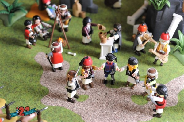 playmobil greek Revolution