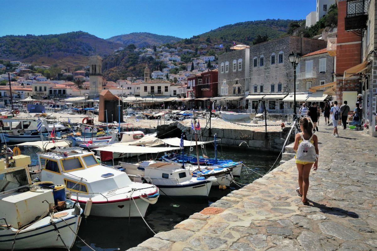 hydra kids greek island