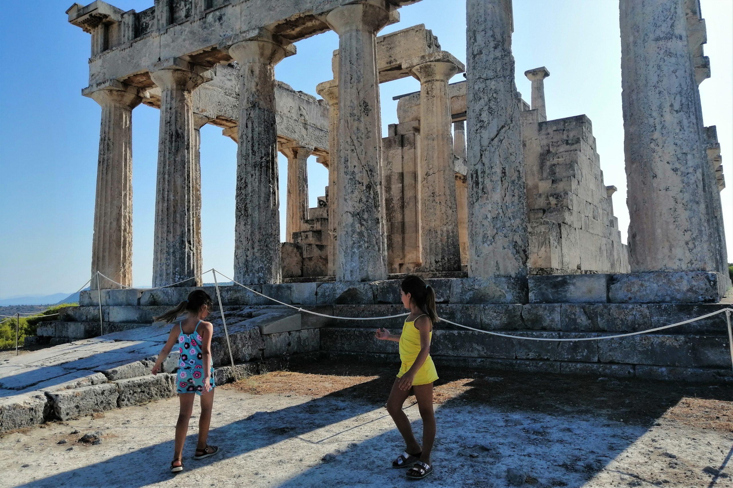 sailing aegina aphaea temple