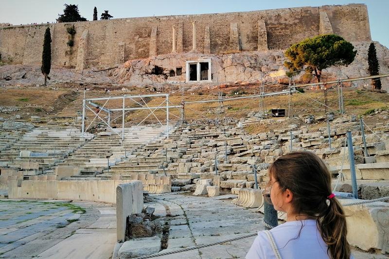 athens kids acropolis theatre