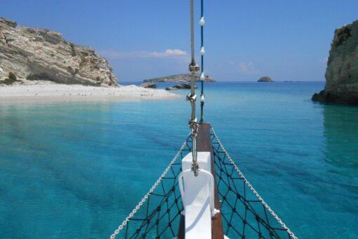 sailing dodecanese aspronisia