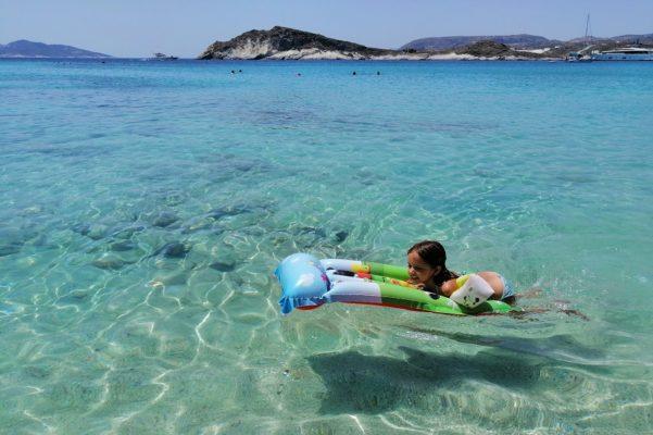 aegean islands kids kimolos summer