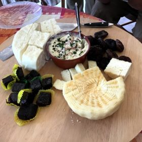 traditional cheese greek islands
