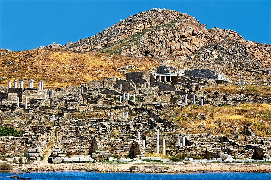 delos archaeological site greece-is