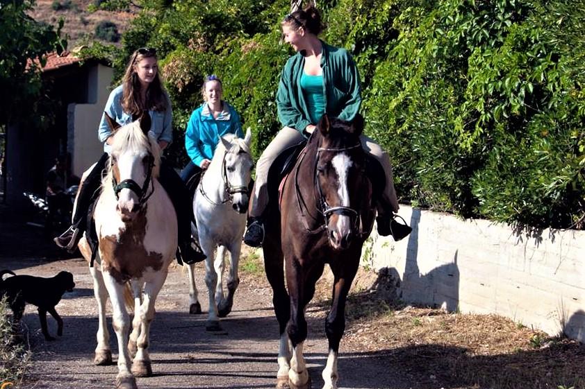 horse riding nafplio