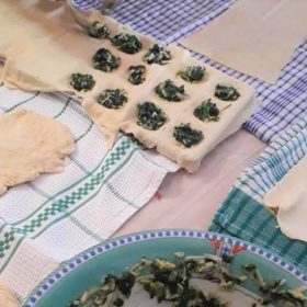 pie pasta making tinos