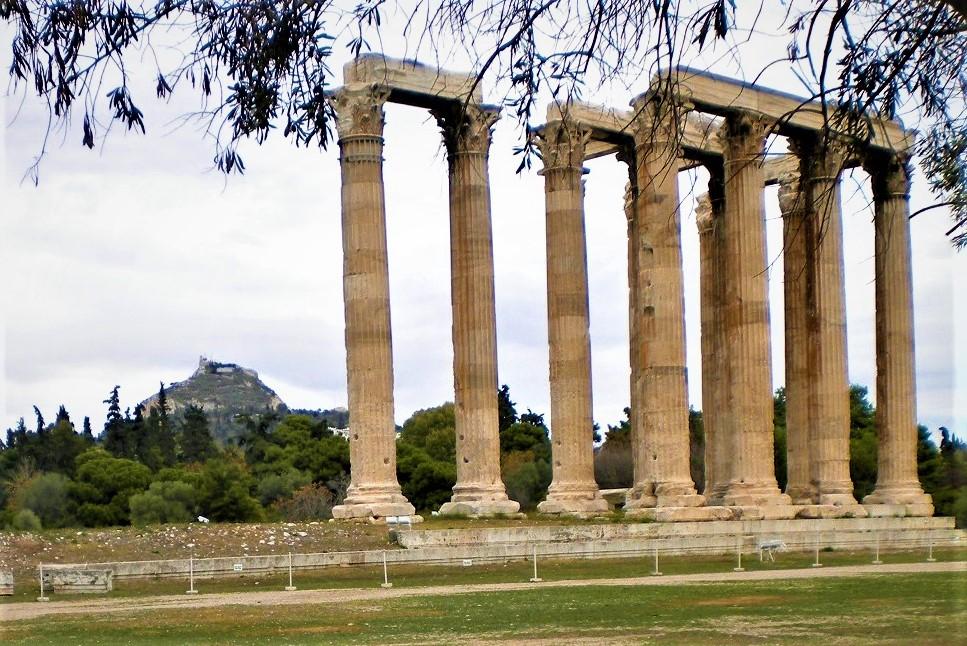 athens tour olympian zeus temple olympion