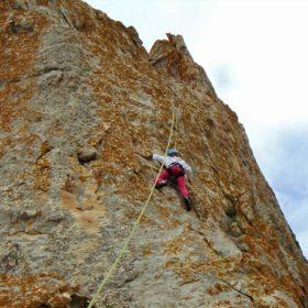tinos kids rock climbing