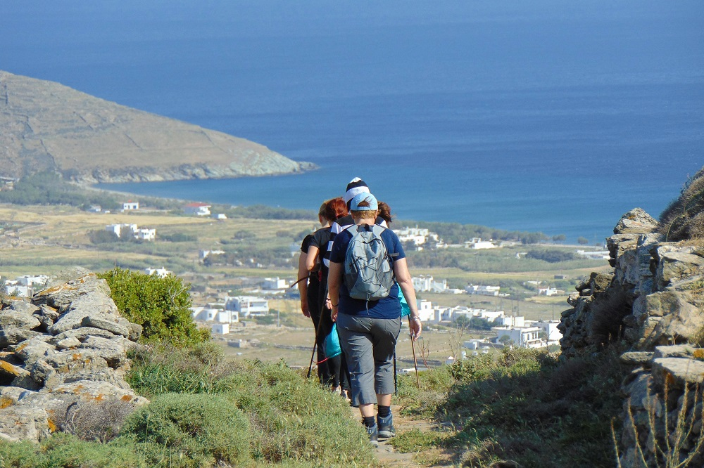 tinos hiking villages