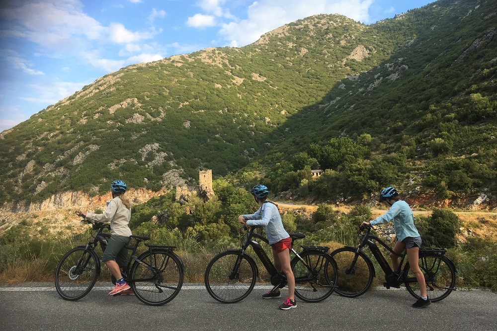bike tour messinia mani