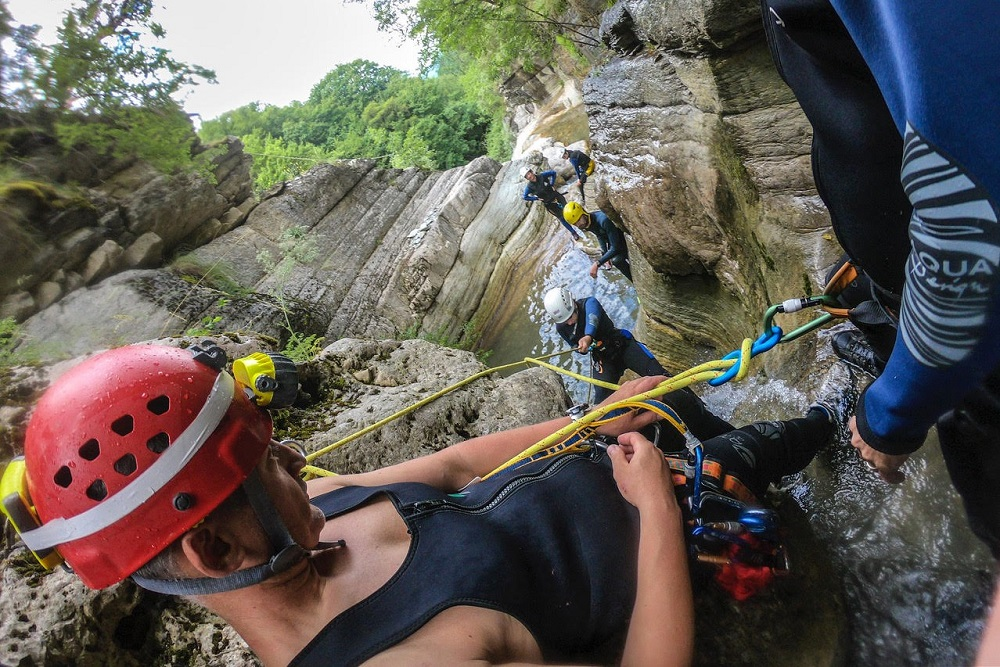 zagori canyoning activities
