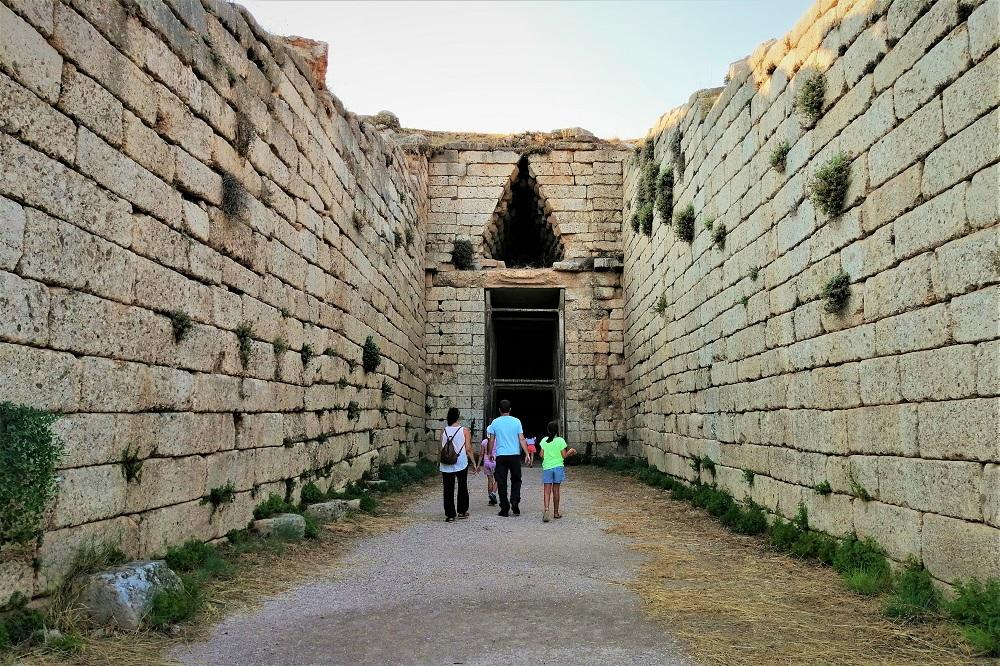 mycenae with kids